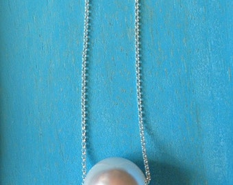 Enchanted Pearl Silver Necklace.