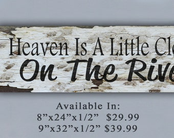 RIVER, Sign, Wooden Sign, ,Personalized Sign, Home Decor, Family, Family Sign, Friends, Family and Friends, Friend Gift, Family Gift