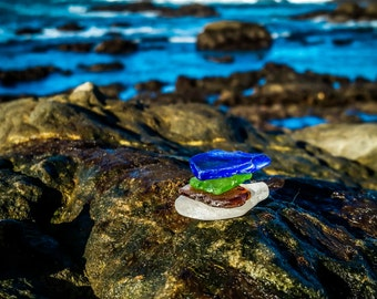 Glass Beach Stacked Glass