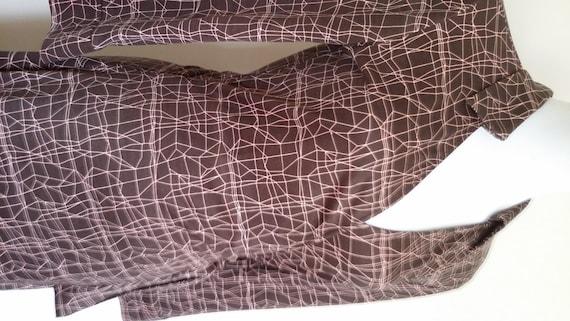Vintage Dvf Geometric Wrap Dress Unavailable Listing on Etsy