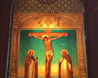 Vtg Religious church door