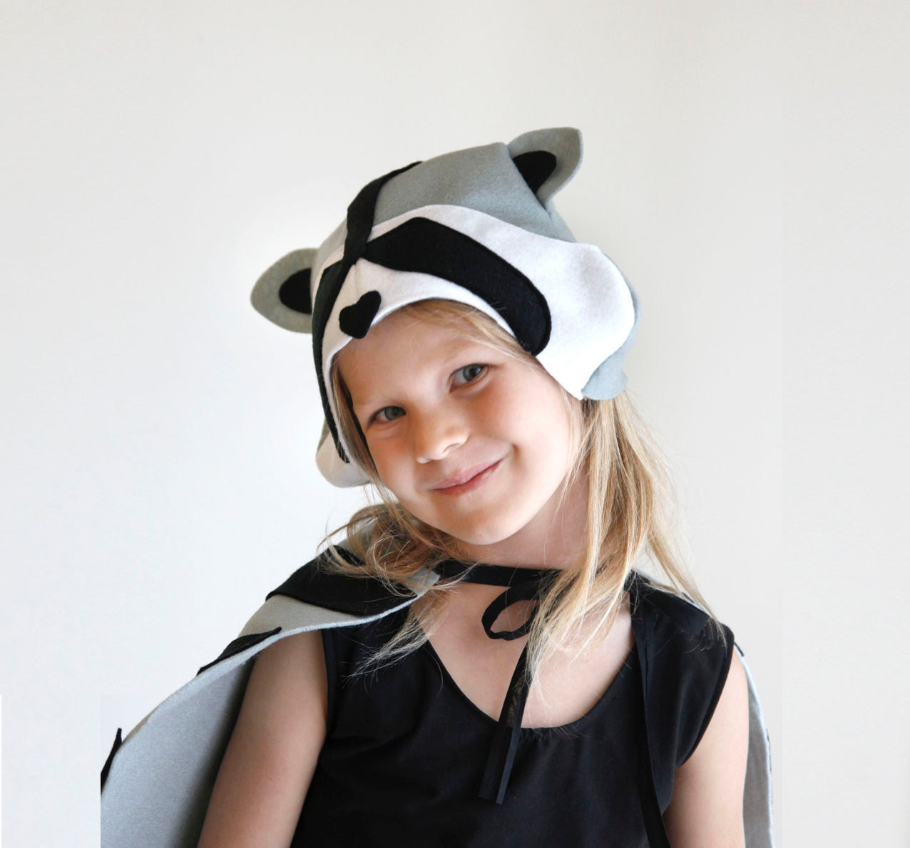 Raccoon PATTERN DIY costume mask boy sewing instant download
