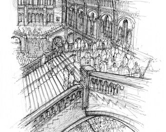 Natural History Museum, London - Limited edition archival print
