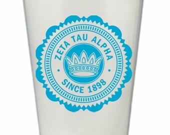 Zeta Tau Alpha Old Style Classic Giant Plastic Cup
