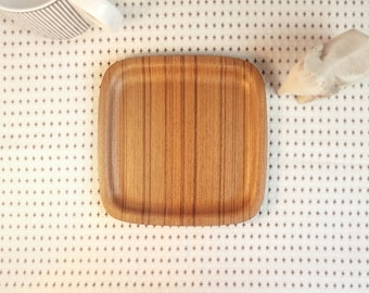Molded Plywood Small Plate in Round and Square