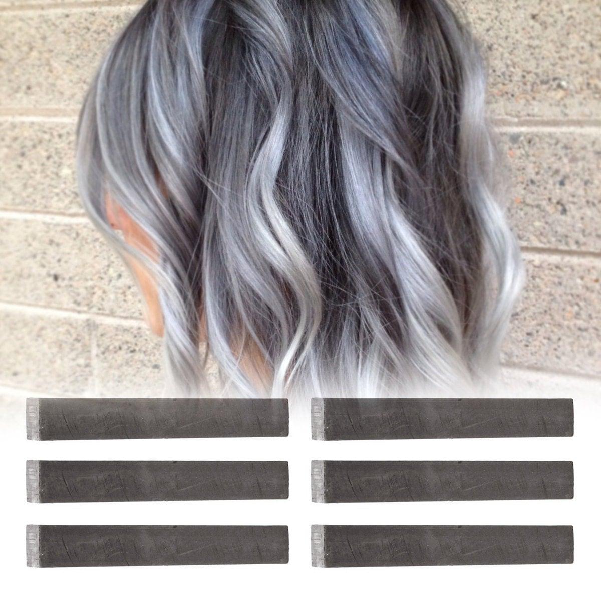 Pinwheel Hair Color Instructions