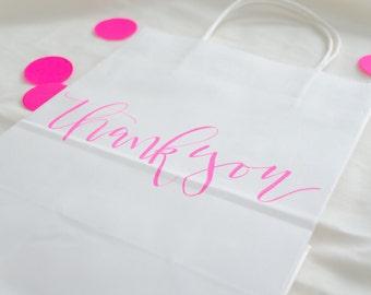 White Custom Paper Bag