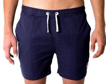 Navy Viking Swim Shorts