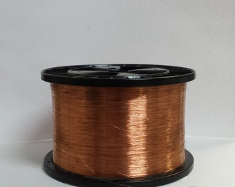 copper wire - 36 gauge copper wire - bare copper - 1000 ft. spool