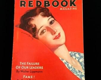 1931 RedBook Magazine: Vinage 30's