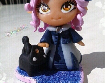"Neko ""Queen of cats in polymer clay"