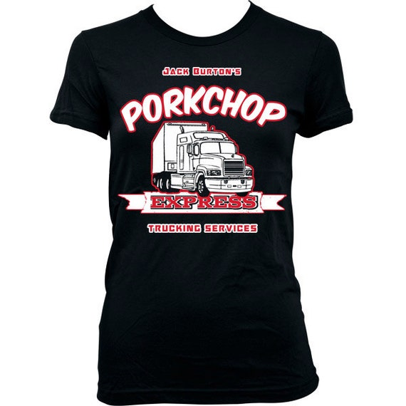 Items similar to 9209 pork chop express women t shirt big for Big trouble in little china jack burton shirt