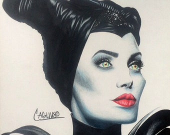 Realistic drawing 'Maleficent'