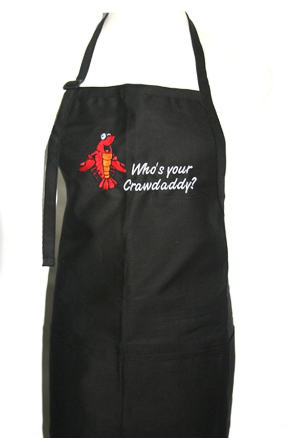 Who's your Crawdaddy? (Adult Apron)
