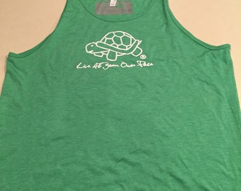Turtle Tank w/colored ribbing