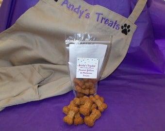Gourmet Dog Treats - Peanut Butter and Molasses Treats