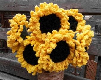 3 Pack - Life Like Sunflower
