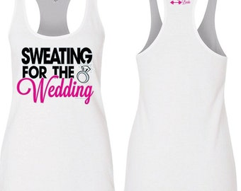 Sweating for the Wedding Workout Tank