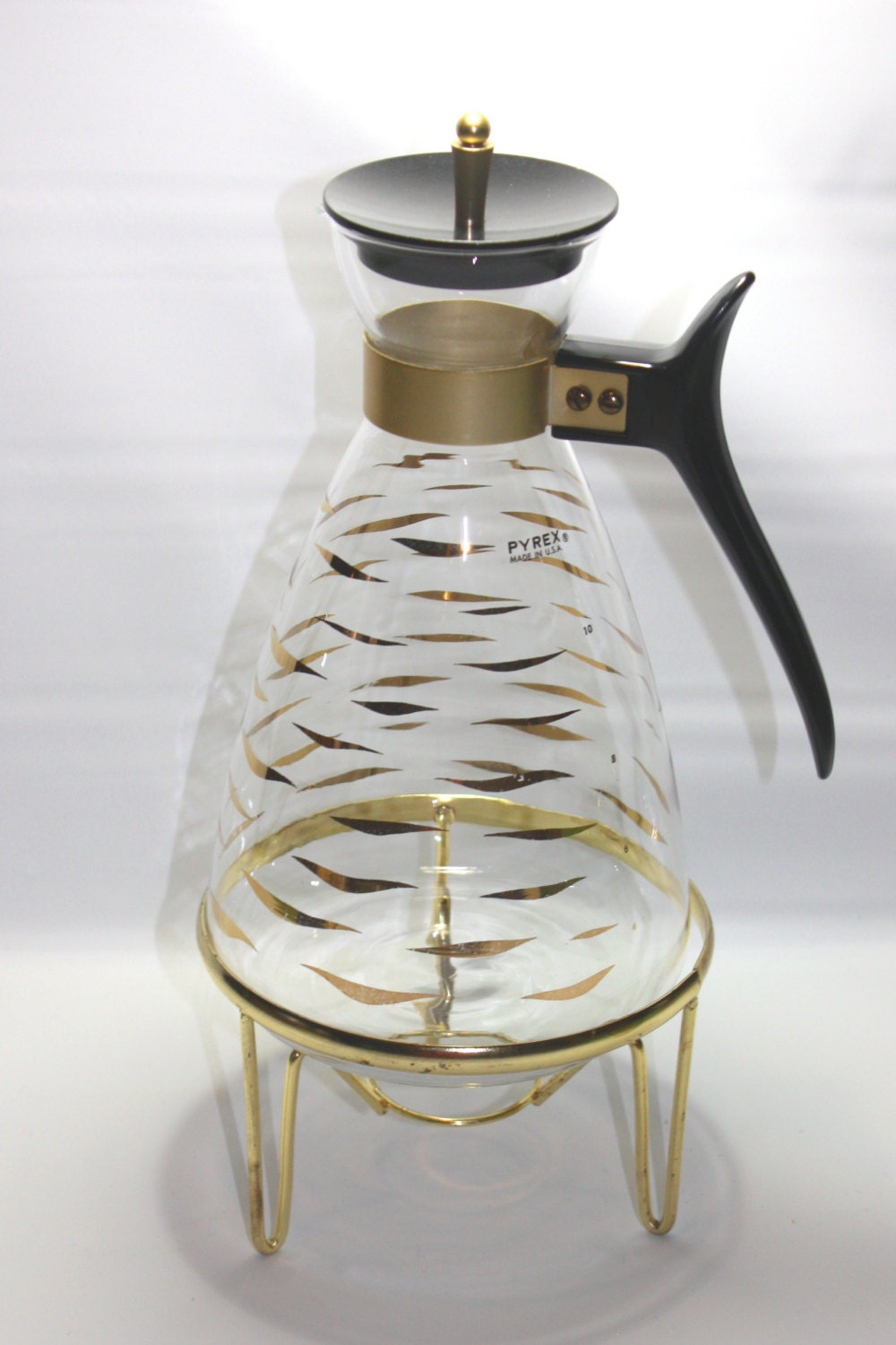 Vintage Pyrex Coffee Carafe And Candle Warmer Pyrex Coffee