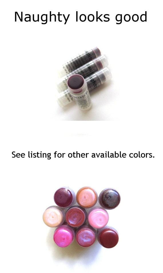 Naughty Lip Balm Sheer Plum Wine - VEGAN Lip Balm