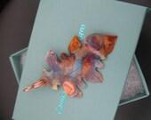 Rustic Oak Leaf Copper Necklace, Patina Copper Leaf, Copper Leaf Pendant, Handmade Leaf Pendant, Copper Leaf Jewelry, Copper Jewelry, Leaves