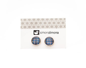 ON SALE - Tile Stud Earrings