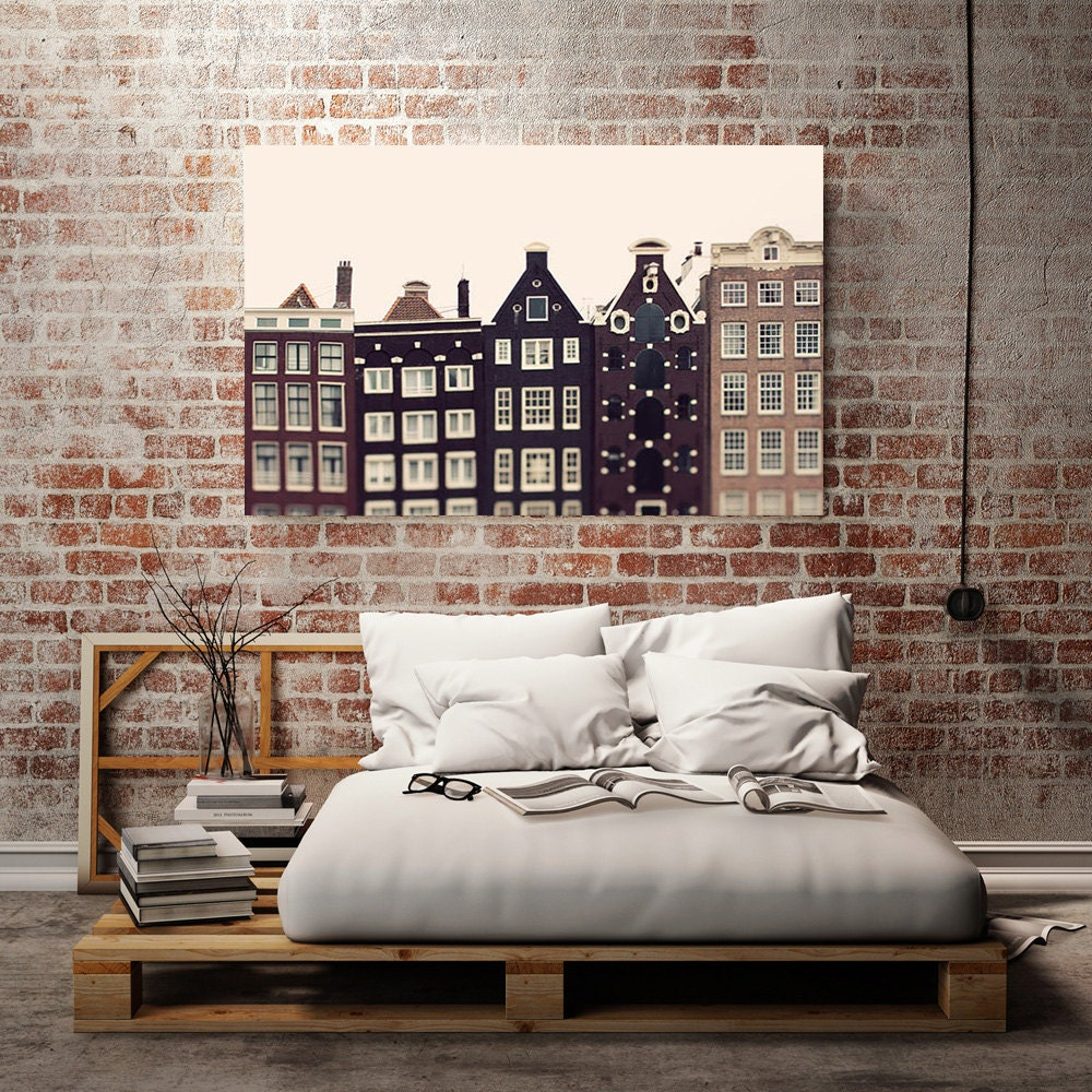 amsterdam canvas art urban wall decor large canvas print