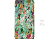 iPhone 6 Case, iPhone 6s Case, Draped, Funky, Abstract Art, Ingrid Padilla, iPhone cases, iPhone 5S case, iPhone 6 plus, Galaxy S5 Case, S6
