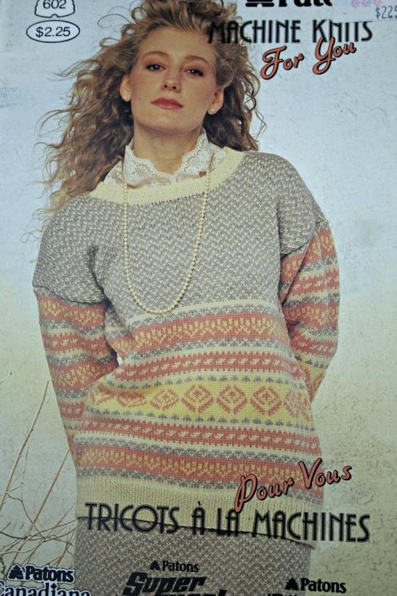 Machine Sweater Knitting Patterns Skirts Machine Knits for You ...