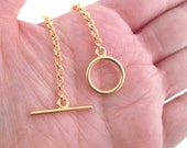 Gold Plated Toggle Clasp Hooks, Pick the Amount you want to Purchase
