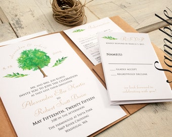 Wedding Invitation SAMPLE - Any Design in the Store