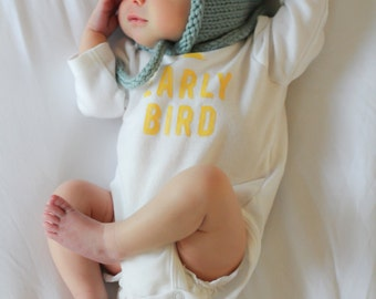 Classic Baby Bonnet - Knitting PATTERN - pdf format for newborn, infant, toddler, child, teen and adult