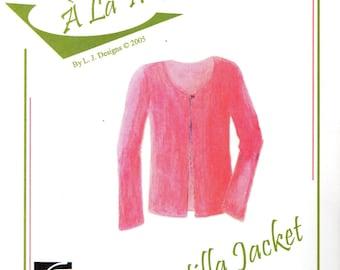 "L. J. Designs ""A La Mode"" TORILLA JACKET Open Classic Style"