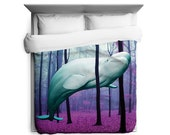 20k Leagues Under the Trees Duvet Cover - Printed in USA