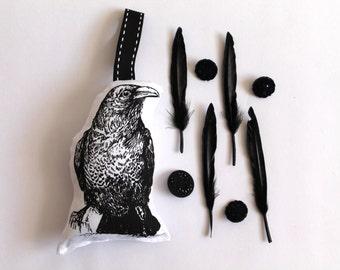 Raven Lavender Sachet Gocco Printed Bird
