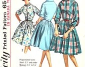 Dress in Proportioned Sizes Bust 34  Simplicity 5232