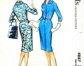Shirtwaist Dress Pattern Bust 39
