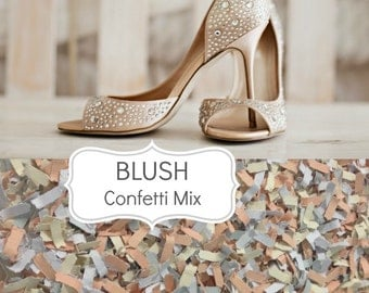 BLUSH Wedding Confetti - Biodegradable Chic Wedding Decoration, Scatters, Confetti, Blush Wedding, Dusty Pink, Vintage Wedding, Romantic
