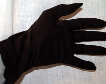 Vintage Fownes Gloves Enchante Brown Antron Nylon