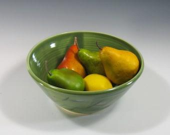 Large serving bowl, salad bowl, fruit bowl, centerpiece, kitchen decor, handmade pottery