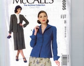 REPRODUCTION Misses Sewing Pattern McCalls M6995 Archive Collection 6995 1930s Style Jacket Size 6 8 10 12 14 16 18 20 22  Multi UNCUT  99