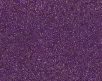 Gold Purple Brilliant Blender Hoffman Fabric 1 yard