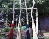 Wedding Besom in your choice of Natural, Black, Rust or Mixed Broomcorn