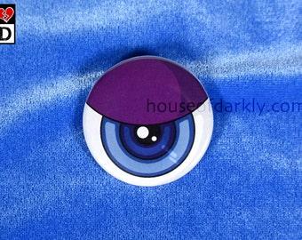 "big Eye 2"" round pinback button"