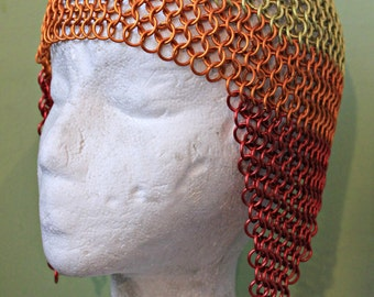 Chainmail Firefly Jayne inspired maille hat Cosplay renaissance