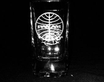Pan Am 2.5 Ounce Shot Glass