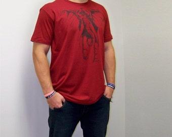 Father's Day gift, T-shirt mens, gift for dad, Alabama shirt, Elephant shirt, American Apparel, boyfriend gift, t-shirt, football, sec
