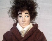Bob Dylan- OOAK Original Artist's Doll