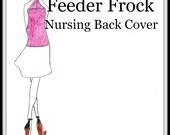 PDF Pattern-Nursing Cover Pattern-Designer Nursing Back Cover-Sewing Tutorial-Ultimate Feeder Frock Cover-Bonus About the Vikings Kids Book
