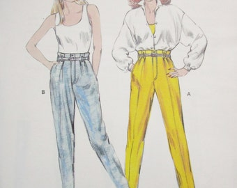 1470  KWIK SEW Pattern       Misses Pants     Sizes 6  8  10  12